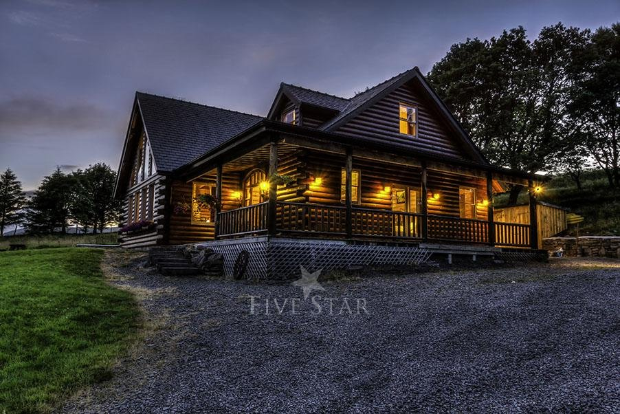 Luxury Log Cabin photo 1