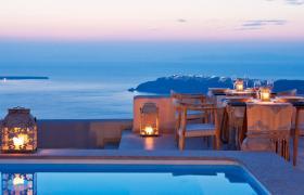 Luxury Holiday Villas Apartments In Santorini Fivestar Ie
